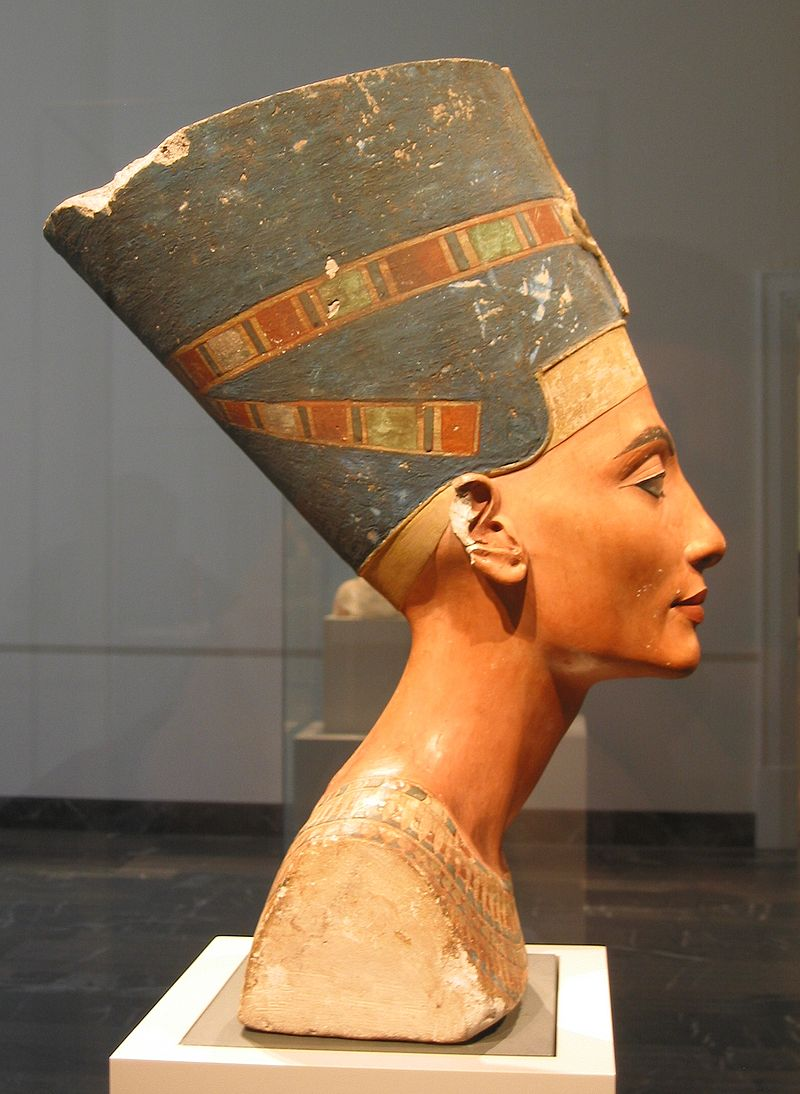 Nefertiti bust right